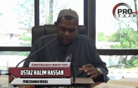 20-08-2016 Ustaz Halim Hassan: