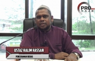 27-09-2016 Ustaz Halim Hassan: