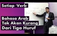 Ustaz Tuan Badrul Hisyam || 'Verb' Bahasa Arab Tidak Kurang Dari Tiga Huruf