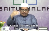 20200113 Ustaz Abu Mubarak : Syarah Aqidah Tahawiah