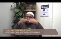 Yayasan Ta'lim: Huraian Kitab Tauhid [01-09-2013]