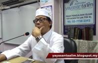 Yayasan Ta'lim: Ilmu Balaghah Al Quran [05-02-16]