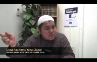 Yayasan Ta'lim: Kelas Sahih Muslim [01-09-13]
