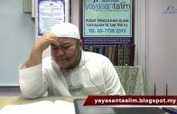 Yayasan Ta'lim: Kelas Sahih Muslim [10-12-17]