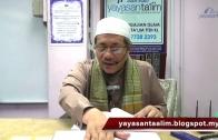 Yayasan Ta'lim: Taubat; Syarat, Rukun & Yang Berkaitan Dengannya [13-08-17]