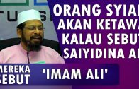Benarkah Gelaran 'Karramallahu Wajhah' Dari Syiah || Maulana Asri Yusoff