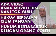 Dr Zaharuddin    Hukum Bertabarruk Dengan Orang Soleh