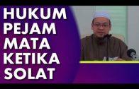 Dr Zaharuddin || Hukum Pejam Mata Ketika Solat
