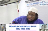 Yayasan Ta'lim: Tahqiq Al Tauhid: Kitab Al Daa' Wad Dawaa' [07-07-2020]