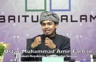 20200111 Ustaz Muhammad Amir Farhan : Hukum Keyakinan Sial Terhadap Sesuatu