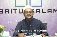 20200111 Ustaz Ahmad Hasyimi : Syarah Talbis Iblis