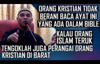 Ustaz Zaid Bin Tandang || Orang Kristian Perlu Buka Mata