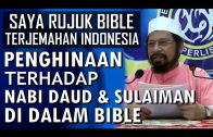 Penghinaan Terhadap Nabi Daud & Sulaiman Di Dalam Bible || Maulana Asri Yusoff