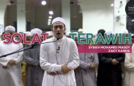 Solat Terawih   Syeikh Mohamed Magdy Zaky Kandil