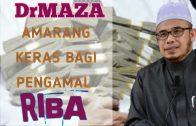 SS Dato Dr MAZA   Ancaman Keras Kepada Pengamal Riba