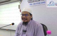 Yayasan Ta'lim: Ringkasan Sahih Muslim [11-03-2020]