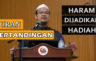 Yuran Pertandingan Haram Dijadikan Hadiah || Dr Zaharuddin Abd Rahman
