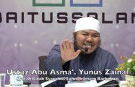 20190614 Ustaz Abu Asma' Yunus Zainal : Syarah Kitab Syarahus Sunnah Imam Barbahari