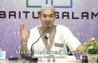 20190702 Ustaz Mohamad Azraie : Syarah Shahih Muslim