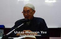 20190828 Ustaz Hussain Yee : Syarah Shahih Muslim