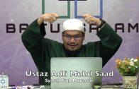 20190926 Ustaz Adli Mohd Saad : Syarah Fiqh Muyassar