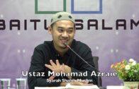 20191022 Ustaz Mohamad Azraie : Syarah Shahih Muslim