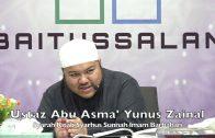20200103 Ustaz Abu Asma' Yunus Zainal : Syarah Kitab Syarhus Sunnah Imam Barbahari