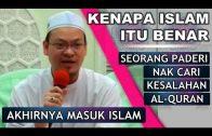 Antara Hujah Quran Yang Menunjukkan Kebenaran Islam    Dr. Zaharuddin Abd Rahman