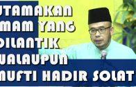 Dato' Dr. MAZA ~ Imam Solat Yang Dilantik Pemerintah