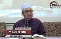 Dato' Dr Maza  Pastikan Kisah Nabi Itu Sahih