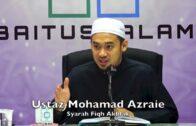 Kenapa Bukhari & Muslim Terima Hadis Kanak-kanak Di Kalangan Sahabat Nabi | USTAZ AZRAIE