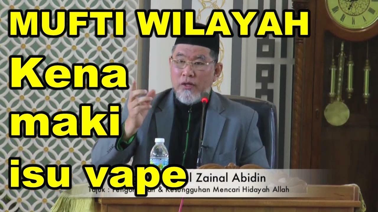 Mufti Wilayah Kena Maki | Dr Danial