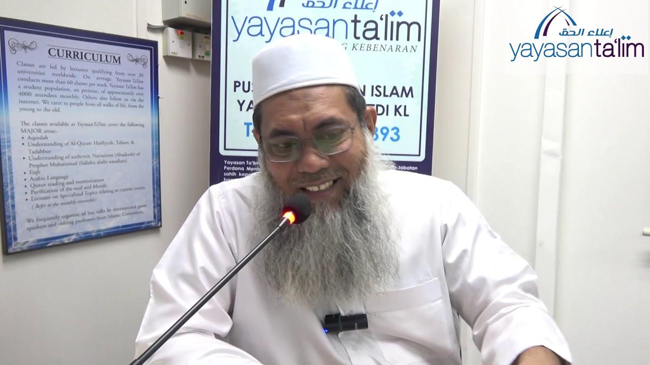 Yayasan Ta'lim: Riyadus Salihin [11-02-2020]