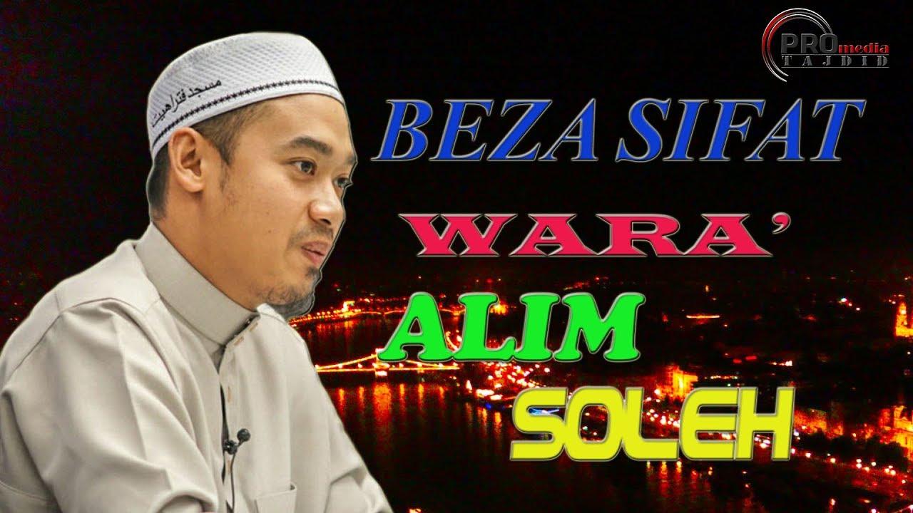 Ustaz Mohamad Azraie: Beza Wara',Alim Dan Soleh