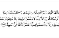 Ustaz Muhammad Faiz : Bacaan Surah Al-Baqarah Ayat 267