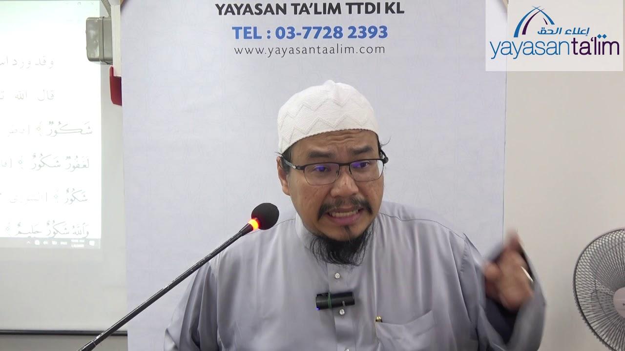 Yayasan Ta'lim: Fiqh Al Asma' Al Husna [08-01-2020]