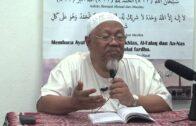 06-09-2014 Dr.Radzi Osman: Allah Tidak Dibatasi Oleh Arah