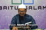 20180922 Ustaz Ahmad Hasyimi : Syarah Talbis Iblis