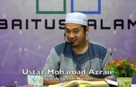 20190423 Ustaz Mohamad Azraie : Syarah Shahih Muslim