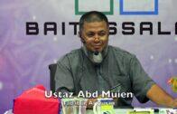 20190501 Ustaz Abd Muien : Tadabur Al Quran