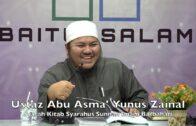 20190524 Ustaz Abu Asma' Yunus Zainal : Syarah Kitab Syarahus Sunnah Imam Barbahari