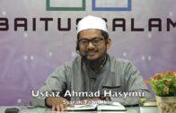 20190525 Ustaz Ahmad Hasyimi : Syarah Talbis Iblis