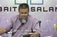 20190806 Ustaz Abd Muien : Tadabur Al Quran
