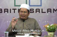 20190923 Ustaz Abu Mubarak : Syarah Aqidah Tahawiah