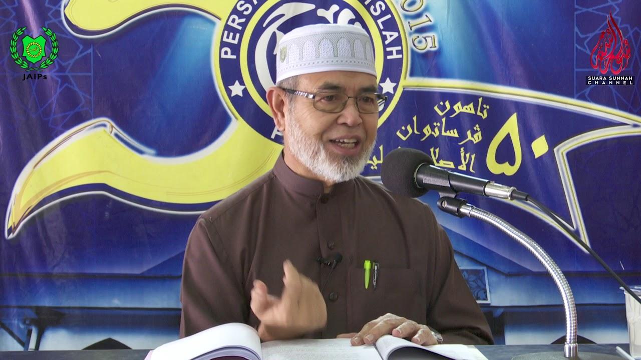 """22 Mac 2019 Usul Al Sunnah"""" Karya Al Imam Ahmad Bin Hanbal Tuan Guru Dato' Dr  Johari Bin Mat"""