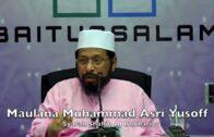 Ada Orang 'Claim' Boleh Bercakap Dgn ALLAH, Telefon NABI – Maulana ASRI Yusoff