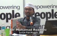 Orang Melayu Ambil Wudhuk Sapu Kepala Sikit Je | Dr Rozaimi Ramle