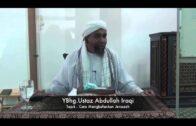 UST.ABDULLAH IRAQI – Tutup Aib