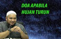 Ustaz Muhammad Faiz :Doa Apabila Hujan Turun