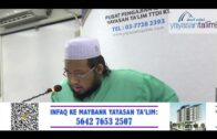Yayasan Ta'lim: Huraian Kitab At Tauhid [15-07-2020]